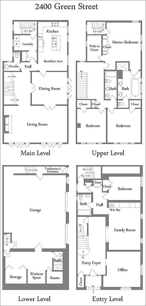 2400 Green Floor Plans