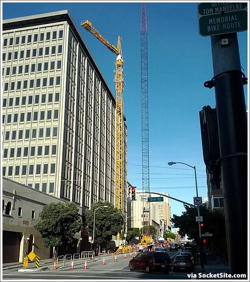 680 Folsom Street Crane