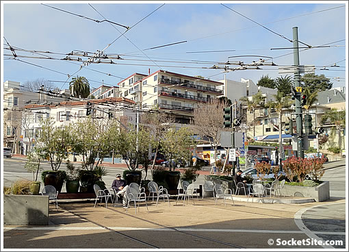 No Chairs For You In The Castro Commons Before (Or After) Nine