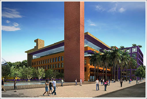 Salesforce Mission Bay Campus Purple Building
