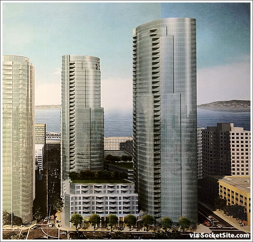 The Arquitectonica Redesigned 201 Folsom Street Rendering Scoop