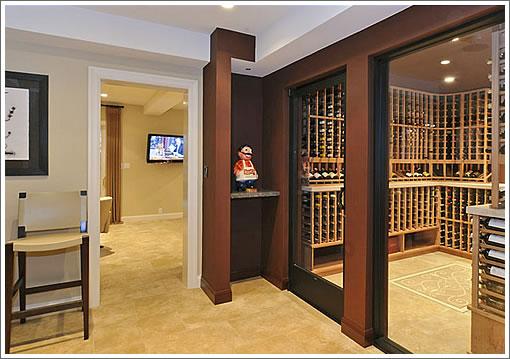245 Mallorca Way Wine Cellar