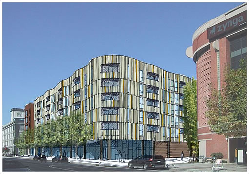 Preliminary Designs For 801 Brannan On The Boards
