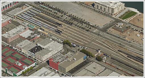 San Francisco's Fourth and King Street Railyard