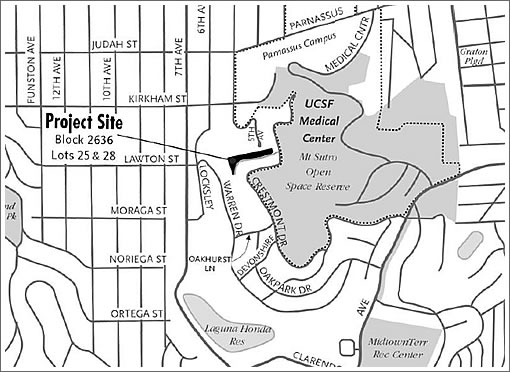 Dusting Off Plans For New Dwellings On The NW Slope Of Mount Sutro