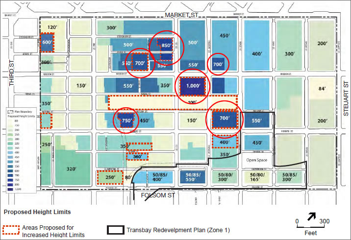 Planning's Towering Transit Center District Plan Decision: Approved