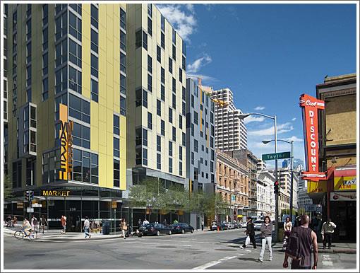 168-186 Eddy Street Rendering