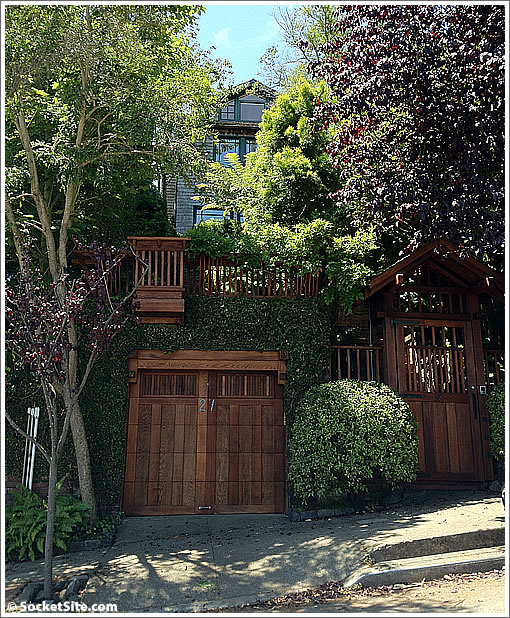Armistead Maupin's Storied San Francisco Home Hitting The Market