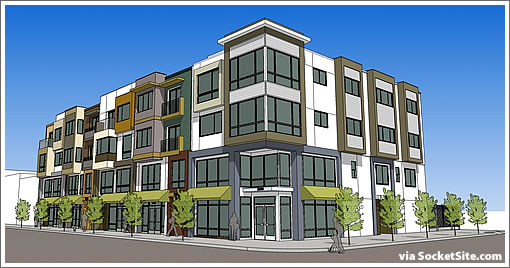 2895 San Bruno Avenue Rendering