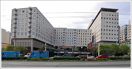 Proposed CPMC Cathedral Hill Hospital Site (Image Source: MapJack.com)