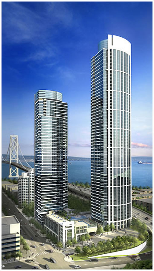One Rincon Hill's TwoTowers
