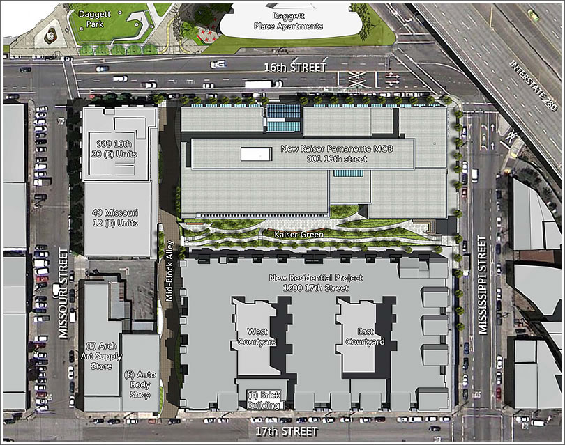 The Plans For 181 New Homes Along 17th Street In Lower Potrero Hill