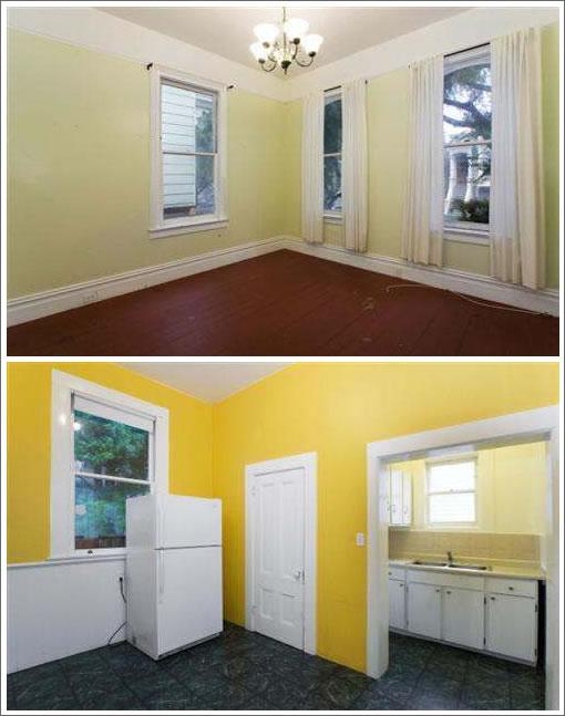 2882 Pine Street Living: Before