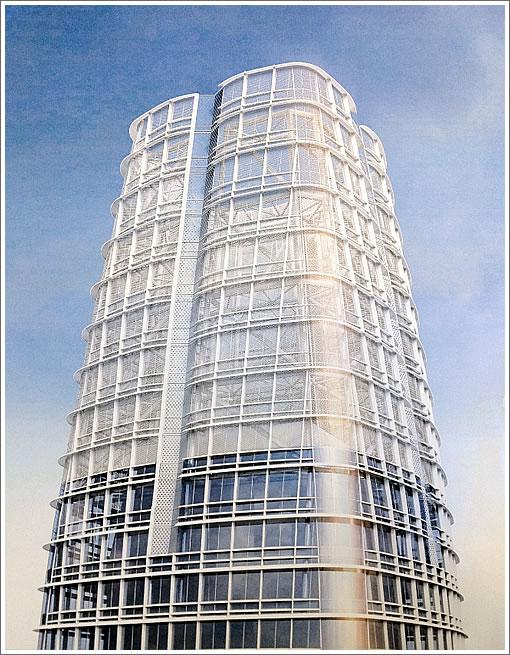 101 1st Street Rendering: Tower Crown