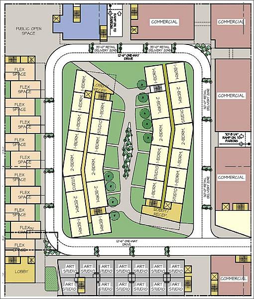 350 8th Street Plan