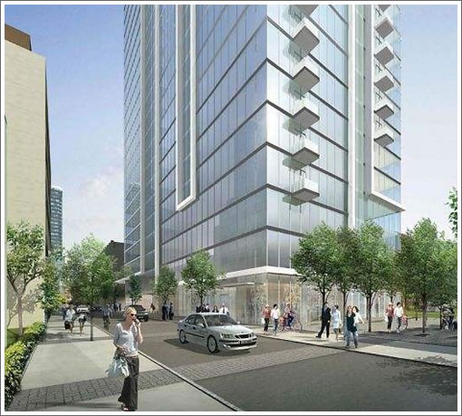 Reaching Out For A 32-Story Residential Tower To Rise At 41 Tehama