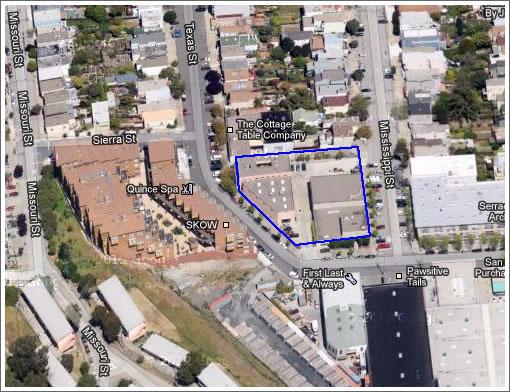 Potrero Hill Development Proposal: 101 Units On Texas, Yee-Haw!