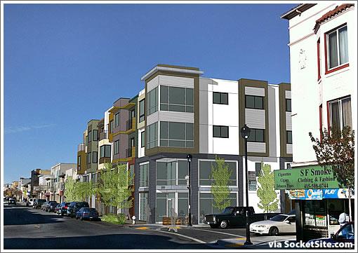 Portola Development Along San Bruno Avenue Slated for Approval