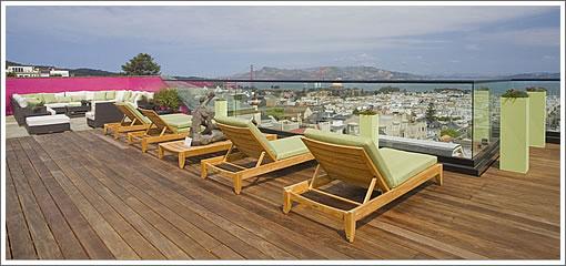 2820 Scott Street: Roof Deck