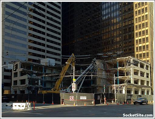 350 Mission Street Demolition (www.SocketSite.com)