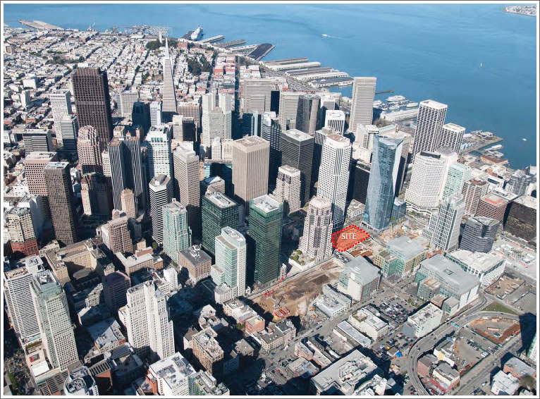 Transbay Tower Site Transferred And Ceremonially Breaks Ground
