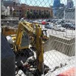 Preparing For The Construction Of 201 Folsom Street
