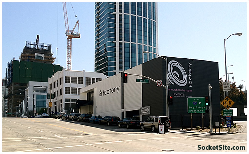Rincon Hill Scoop: Plans For 184 Condos Versus The Factory Club