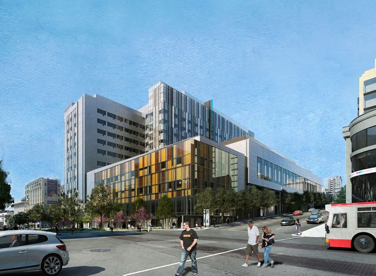 CPMC Cathedral Hill Hospital Rendering 2013
