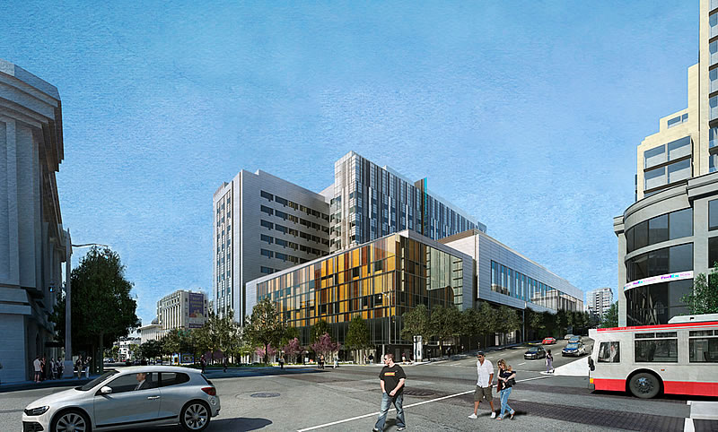 Revised Designs For CPMC's Cathedral Hill And St. Luke's Hosptials