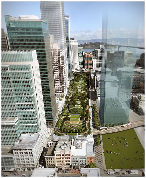Hines And Boston Balk At Having To Pay For Transbay Park Upkeep