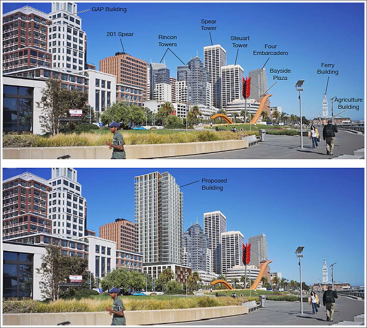 The Impact Of A Proposed 31-Story Tower On SF's Waterfront