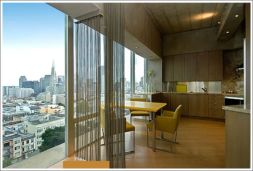 1750 Taylor #203: Kitchen and View