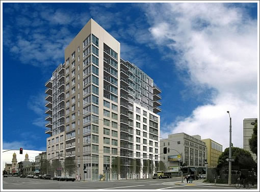 1415 Mission Street Rendering