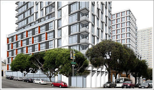 Another Peek At The Two Pine Street Towers Proposed To Rise