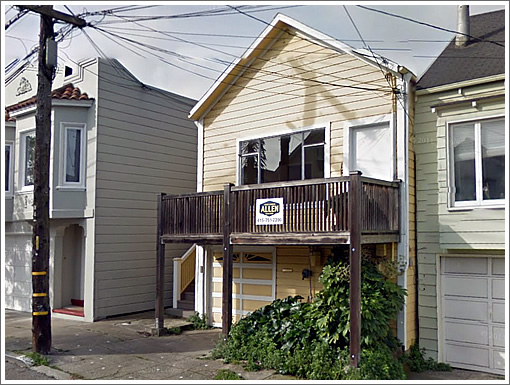 Destined For Dwell(ing) In Bernal Heights