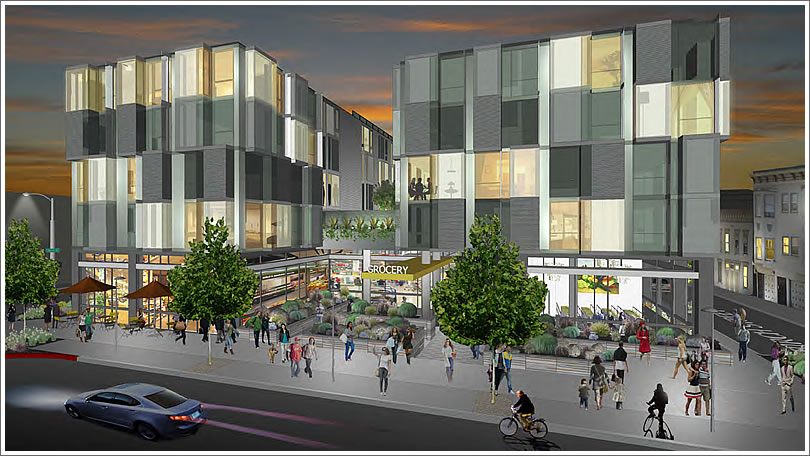 New Renderings And A Potential Formula Retail Fight For 555 Fulton