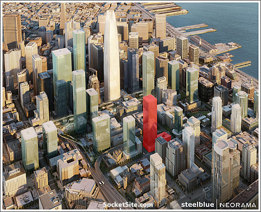 San Francisco's Transbay Block 8 And 550-Foot Tower Back In Play