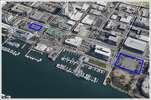 Plans For Two Jack London Square Towers And Nearly 700 Units