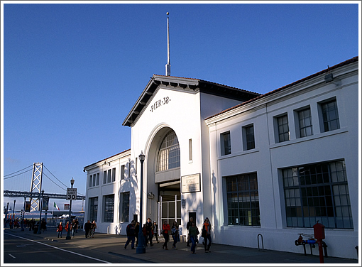 Proposal to Immediately Revitalize San Francisco's Pier 38 Picked