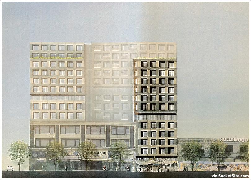 Shorenstein's Proposed Mid-Market Development Rendered