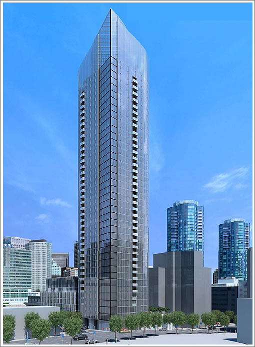 Site Prep For Redesigned 400-Foot Tower On Fremont Is Underway