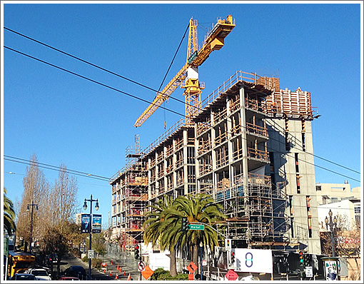 8 Octavia Topped Out, Condos On Track For Summer Completion