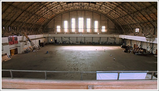 San Francisco Armory Drill Court