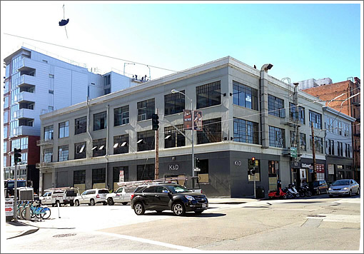 The Makeover And Return Of  A Townsend Street Warehouse