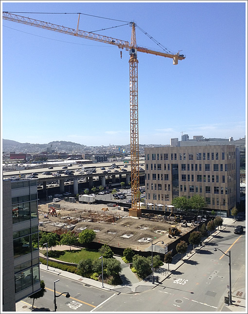Cranespotting In Mission Bay: Kaiser Permanente's MOB To Rise