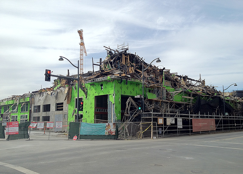 Hope And Timing For Fire-Damaged Mission Bay Development