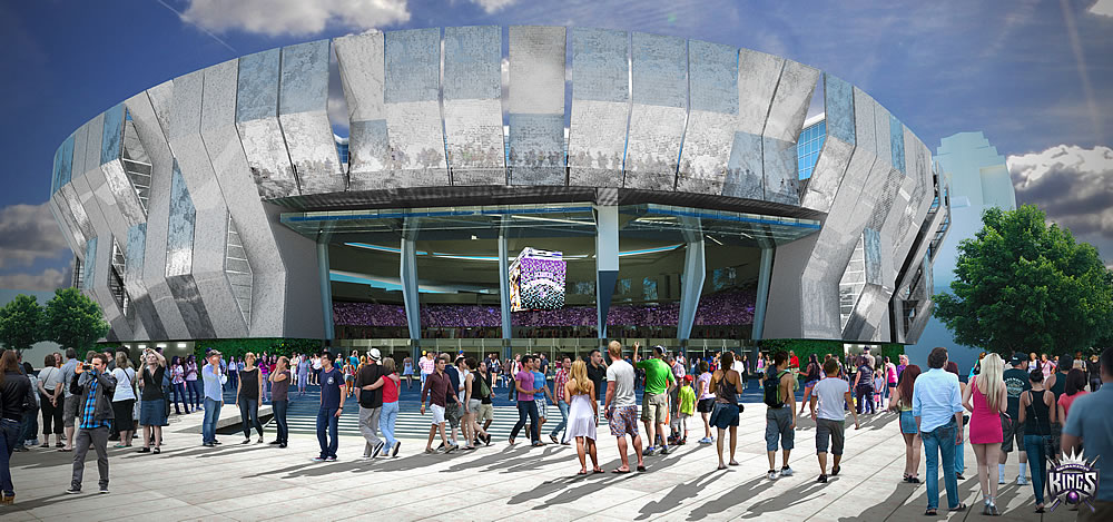 Sacramento Kings New Arena