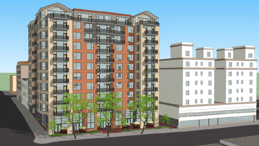 Preview Of Proposed 12-Story Shattuck Avenue Project
