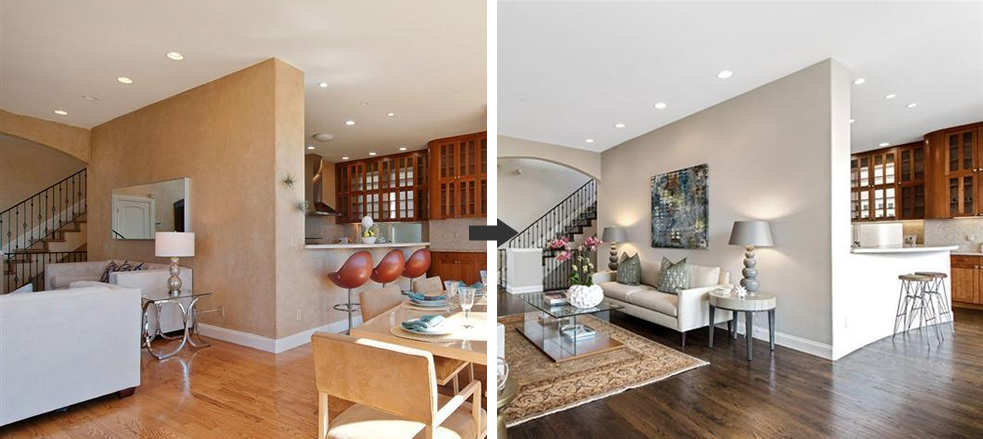 279 Castenada Avenue: Before and After