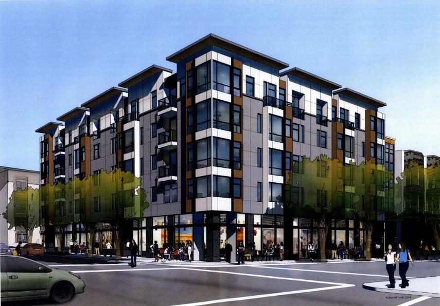 580 Hayes Street Rendering